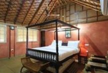 Bamboo Cottages / The Bamboo Cottages are made of Bamboo Materials,Mud walls,and wooden rafters . Each cottage is equipped with all modern facilities and amenities to make your stay as comfortable as possible.