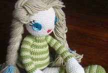 CROCHET DOLLS & ANIMALS / by SUNSHINE ANNMARIE