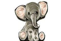 QUILLING / L''arte dei riccioli di carta