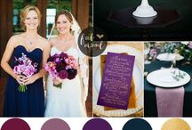| Wedding colour palettes