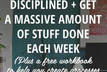 | Organising & Time Management