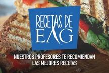 Recetas EAG / Una selección de las mejores recetas seleccionadas por los profesionales del EAG