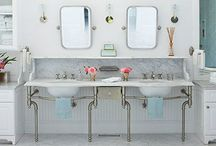 {bathrooms} / by Style Lady