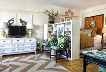 {small living spaces} / by Style Lady