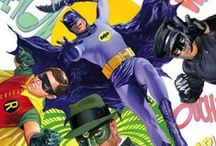 DC Comics Art / DC Comics is one of the largest most popular and diverse publishers of comics and comics-related products today. It also has the distinction of being the home to the famous super hero characters: Superman, Batman, Wonder Woman, Green Lantern, The Flash, Plastic Man as well as the first super-team, the Justice Society of America. These characters have provided the inspiration for radio, cartoons, numerous movies, television shows and even Broadway musicals.