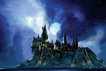 Harry Potter Movies Art Jim Salvati  / Artist Jim Salvati was brought on board for Harry Potter films three and four, where he was assigned to develop paintings in his unique style. Each piece in the series is adopted from conceptual sketches and film stills taken directly from the movie to create original oil background paintings