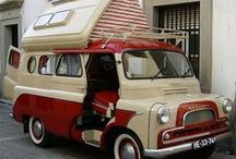 COOL RVS & CAMPERS & IDEAS / by Lisa Deckert