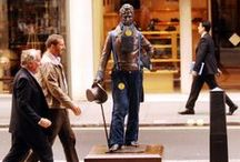 Denimised Statues! / The only requirements to take part in Jeans for Genes: Rock a pair of genes and donate! Here are statues around the UK demonstrating this: