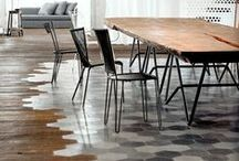 Tile, hardwood, laminate... / All the cool ways you can cover your floors and walls.