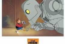 Iron Giant / Believed to be one of the greatest animated features of our time, The Iron Giant treated viewers to a deeply-moving story of a boy befriending a giant robot whose emergence typified in some, the paranoia of America's Red Scare period. The Iron Giant is based on the 1968 novel The Iron Man by Ted Hughes. Nominated for the Hugo Award for Best Dramatic Presentation and the Nebula Award from the Science Fiction and Fantasy Writers of America.