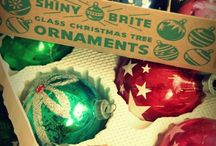 Vintage Christmas Ornaments / by Mindeemelillo