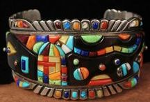 NATIVE INLAID CUFF JEWELRY / by Lisa Deckert