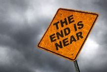 The End is Coming! / Apocalyptic ideas for writing inspirations. For the record, though, I do believe an apocalypse is inevitable with how to world is going. Just no zombies...