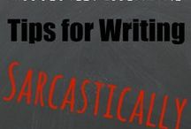 How to Write / The best articles I've found about every aspect of creative writing.