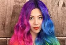 ♀ Female • Multicolor Hair