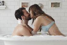 ♥ Couple • Bath