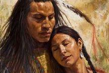 ♥ Couple • Native American