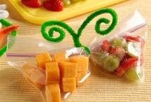 Snack / Healthy snacks for kids and adults. Lunch box ideas. Creative ways to prepare food or snacks for children. / by Brandy Kocsis Burg