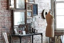Favorite Places & Spaces / Love these beautiful homes, apartments, lofts and studios. Great ideas for decorating your home where ever you may live.