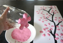 CREATING MEMORIES WITH MY KIDDOS DOING CRAFTING! / by Shana Samuel