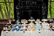 Books Party Inspiration / Book inspired parties and events