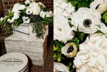 Black and White Party Inspiration / Black and White Party/Event Styling and Inspiration with just a touch of color