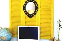 Shutters Ideas / shutters crafting ideas and decor for the home and office