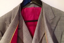NW Bespoke Tailored Mens Fashion / Bespoke tailored mens fashion from NELSON WADE and other designers. / by NELSON WADE