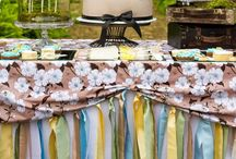 Bridal Showers Ideas / Ideas inspired on the cute, simple things for the bride