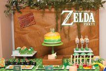Zelda Party Ideas / Zelda Party by In Flight