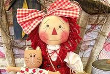 Primitive Raggedys / A doll everyone knows!