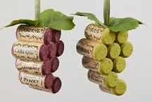 Wine Cork Ideas / Wine corks are slowly becoming extinct ... replaced by plastic corks and screw-tops. Save your wine corks and repurpose them as works of art or functional items like trivets, garden markers, and Christmas ornaments.