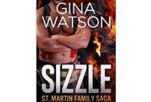 SIZZLE (St. Martin Family Saga)  / Sizzle (St. Martin Family Saga)  Emergency Responders Series STORYBOARD