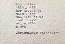 Word ❤ / Words that cut deep . . .
