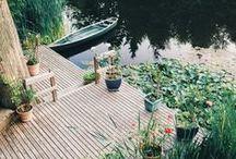 O U T D O O R . O A S I S / Inspiration for creating a relaxing outdoor oasis. / by Kerri-lynn Wilkinson