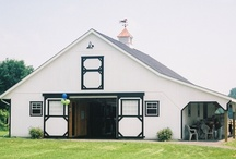 Horse Barns / Pre-built and modular horse barns.  Most models delivered fully-assembled and ready for immediate use.  Larger, modular barns built by our crew in less than a week