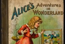 Alice in Wonderland Books / by North Ranch Art Lover