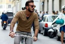 Boys on Bikes / And boys, too, look better on bikes :)