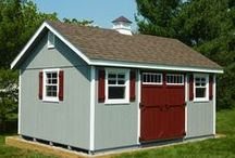 Sheds / Some of our sheds.  Some great shed by others.