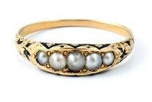 Jewelry / There is something so lovely about antique jewelry. Exquisitely crafted jewelry from times gone by.