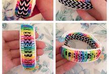 Rainbow Loom / Rainbow Loom bracelets, videos, and ideas!