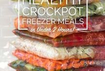 Time Saving Freezer Recipes / Having  meals in the freezer helps me be prepared to serve others as well as my family...It also SAVES MONEY!