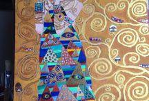 Quadri copiati e lavori fatti da me / Quadri che adoro e oggetti che faccio come hobby
