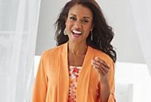 Orange Crush / Orange and Peach tones to add a pop of color to your wardrobe!