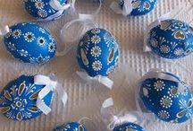 kraslice madeirové a jiné / Velikonoce
