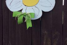 Summer fun / Summer fun and decorating, door decor, wall decor, pool decor