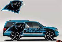 Panthers ~ Carolina Panthers / by Lynn Pena