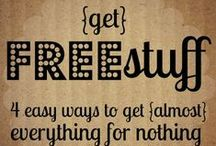 FREE / The word FREE just might be my favorite word!  Check out all these FREE things that are offered to enrich your life.
