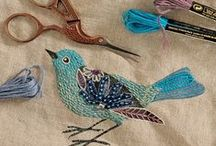 Needle Work / I love hand sewing ...cross stitch, embroidery, smocking and needlepoint!  Check out these creative and lovely works of art that you can make.