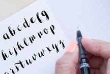 Caligraphy & hand lettering